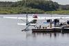Fueling a floatplane