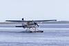 Floatplane C-FCXN taxiing.
