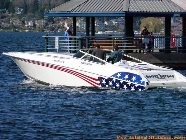 Fountain 38 Boat 100+ Testing!