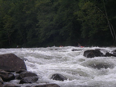 Woods Ferry on the Lower Gauley