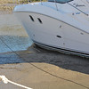 Lower Low Tide at Jekyll Harbor Marina on Jekyll Island Georgia in Jekyll Creek 02-18-11 An inner slip is now mud