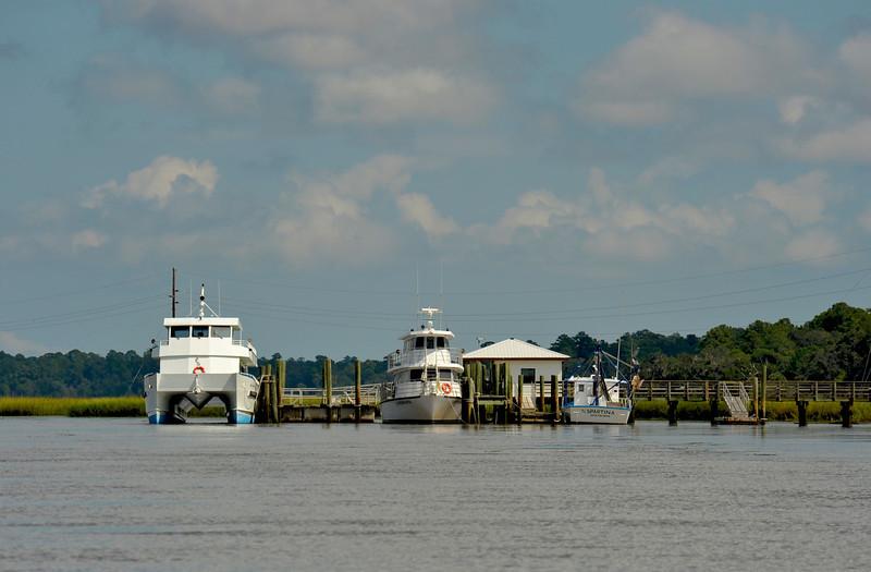 Sapelo Island Landing - Sapelo Island, Georgia 09-27-11