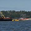 Miss Frankie Sunken Shrimp Boat in Fish Haven 03-04-19
