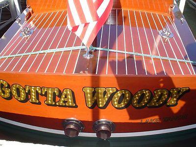 Gotta Woody - Tahoe boat week 2004
