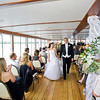 Wedding ceremony aboard the Grand Belle.