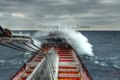 Heavy seas on Lake Michigan on November 14, 2010 in HDR.   For other HDR photos please check out my HDR gallery.
