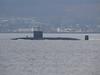 Trafalgar Class (?) Submarine off Cloch Lighthouse<br /> 12th April 2008