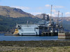 "SD IMPETUS and <a href= ""http://clydesights.com/search?q=hms+bulwark""> HMS BULWARK</a> at Glen Mallan. 18th April 2008"