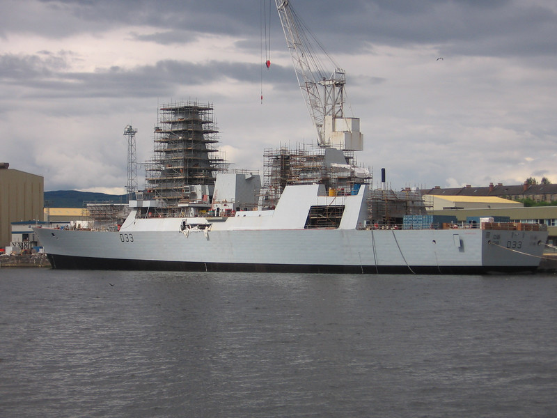 HMS DAUNTLESS (D33)<br /> 17th June 2007.