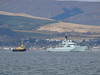SD OMAGH and HMS TYNE (P281) off Greenock Esplanade.<br /> 10th April 2008