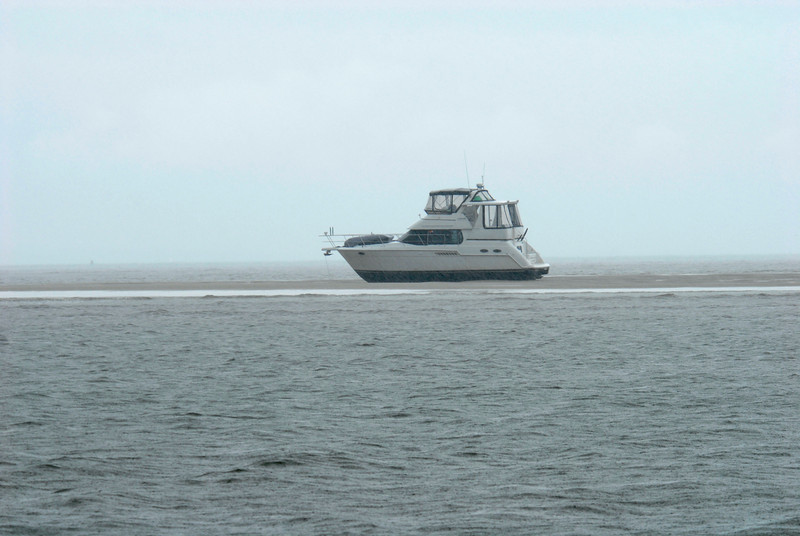 Grounded Vessel offshore of Little Cumberland Island, Georgia near St. Andrews Sound - Ungrounding by TowboatUS Brunswick