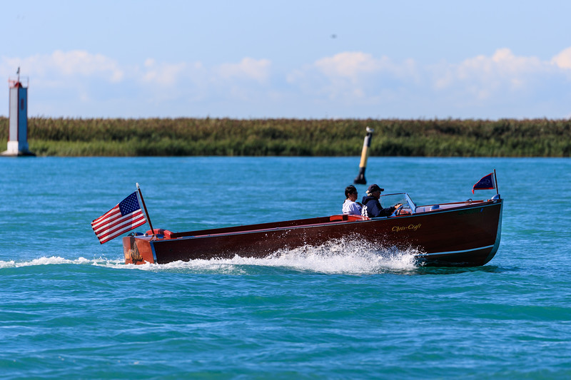 Boats from the 2016 Classic Boat Parade Harsens Island