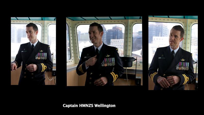 Warship Wellington Sep 2010 Captain Collage