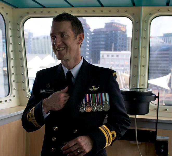 HMNZS Wellington Sep 2010 Captain
