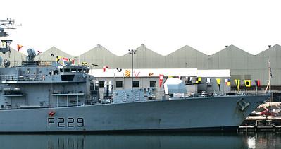 HMS Lancaster, Barrow 2007