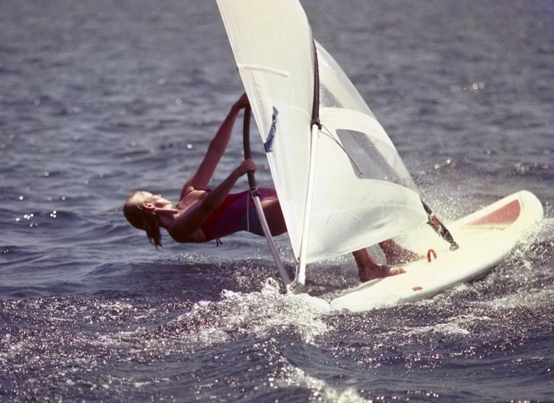 Trisha on Lake Union, Seattle, 1983