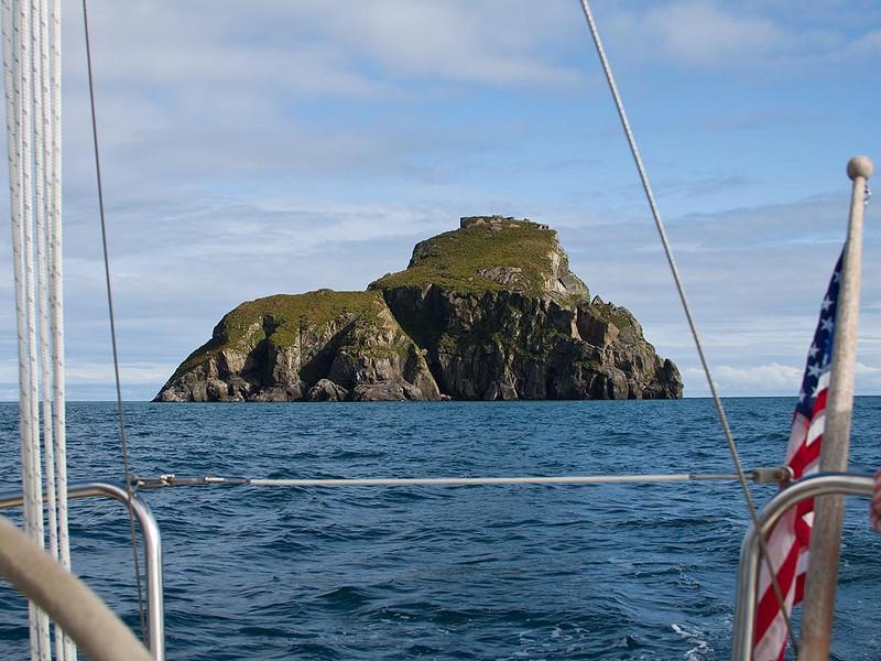 IMG_0240  Barwell Island.  WWII fortifications on top of island.