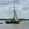 Interesting Sailboat in Jekyll Creek 03-10-19