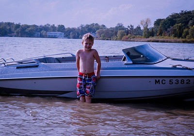 Jake and I at Cass Lake Sept 25-3112