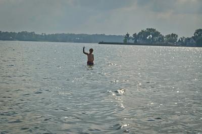 Jake and I at Cass Lake Sept 25-3090