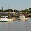 Jekyll Wharf at Jekyll Island, Georgia at Low Tide 09-28-11
