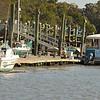 Lower Low Tide at Jekyll Wharf Marina on Jekyll Island Georgia in Jekyll Creek ICW (Intracoastal Waterway) 02-18-11