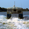 Water Taxi Oglethorpe near Cunberland Island