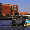Water Taxi in Savannah, Georgia Crossing the Savannah River