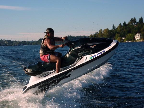 Joe Todd Randy Wendy Boating on Lk Washington