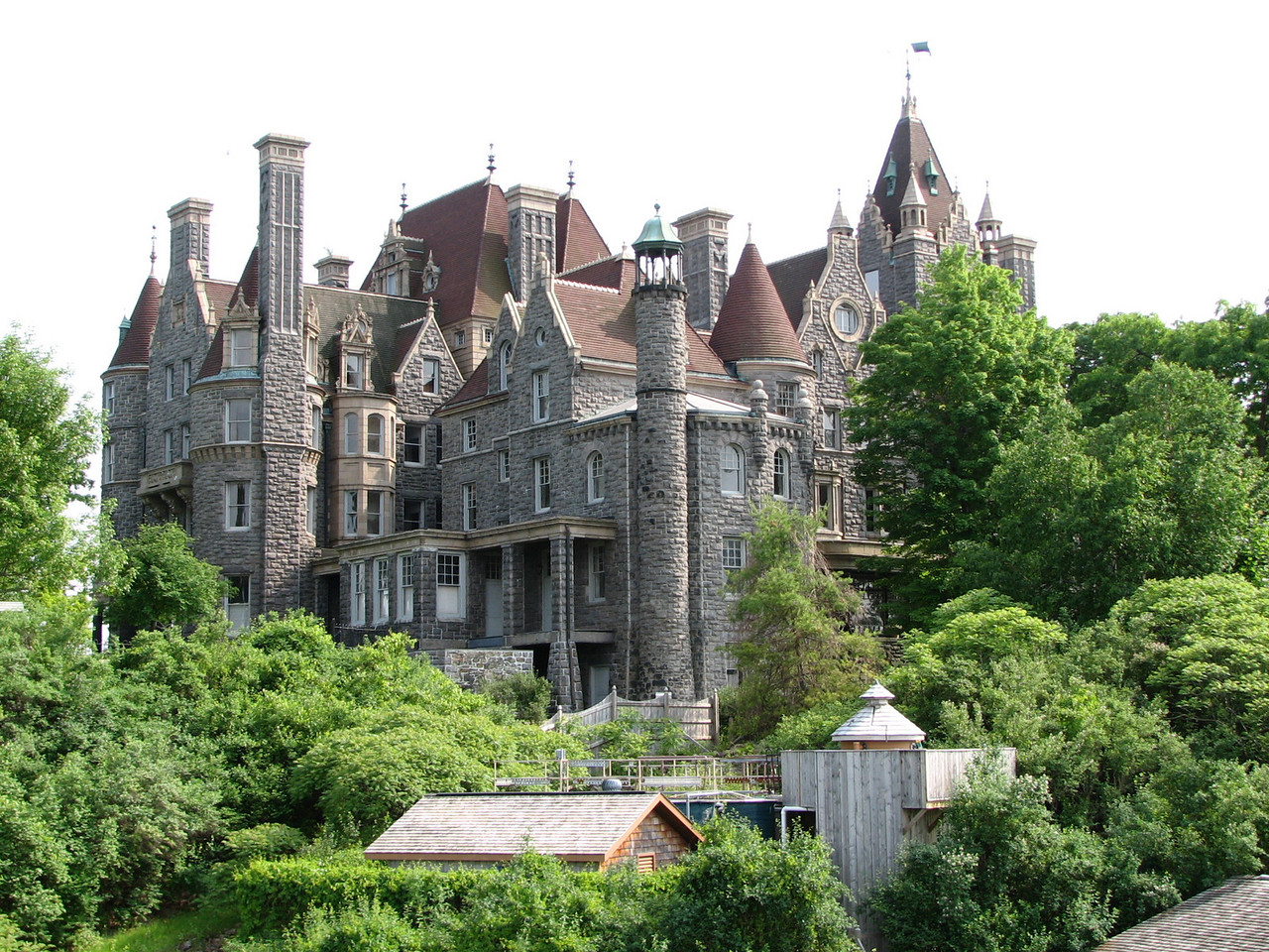 Boldt Castle, as seen on Thousand Islands cruise, is now restored and open for tours.