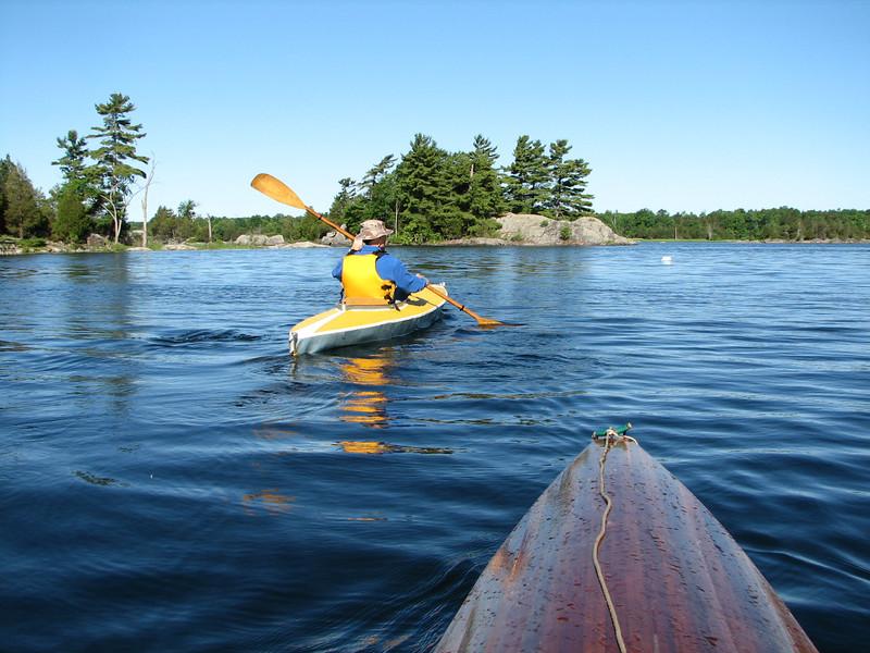 Scenic waterways.