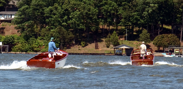 Lake Gaston Sea Skiff Twins
