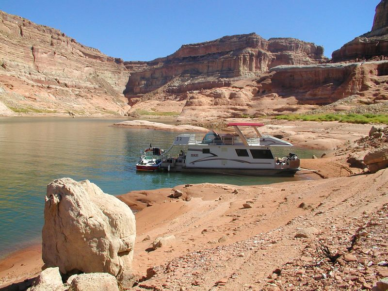 Our Lake Powell home for the week