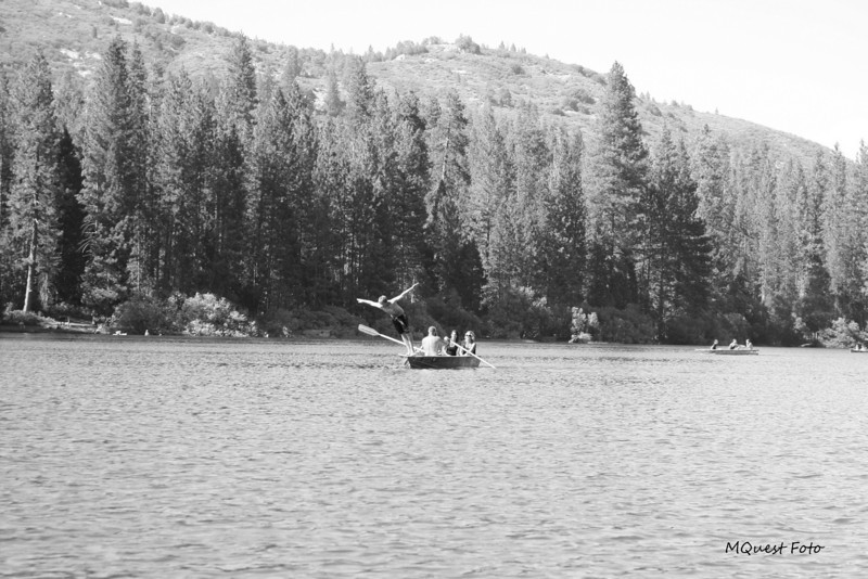 Jump Row Boats - Hume Lake - Sequoia
