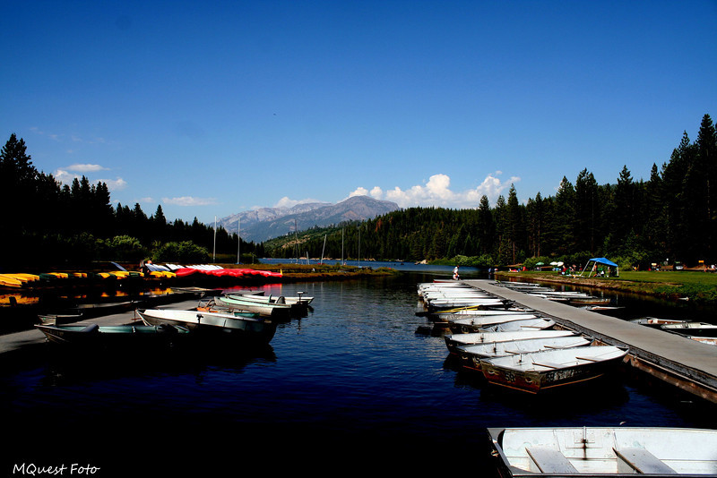(boats docked) Hume Lake - Sequoia (docks of the bay)
