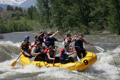 Leavenworth White Water Rafting 2008