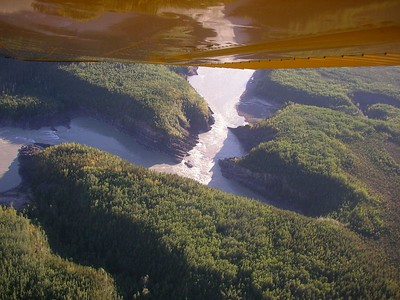 Grand Canyon of the Liard by Air