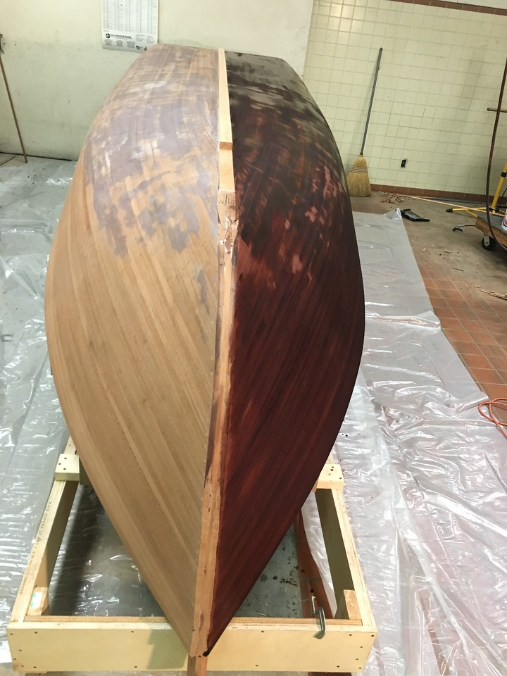 Aniline Dye Applied Starboard