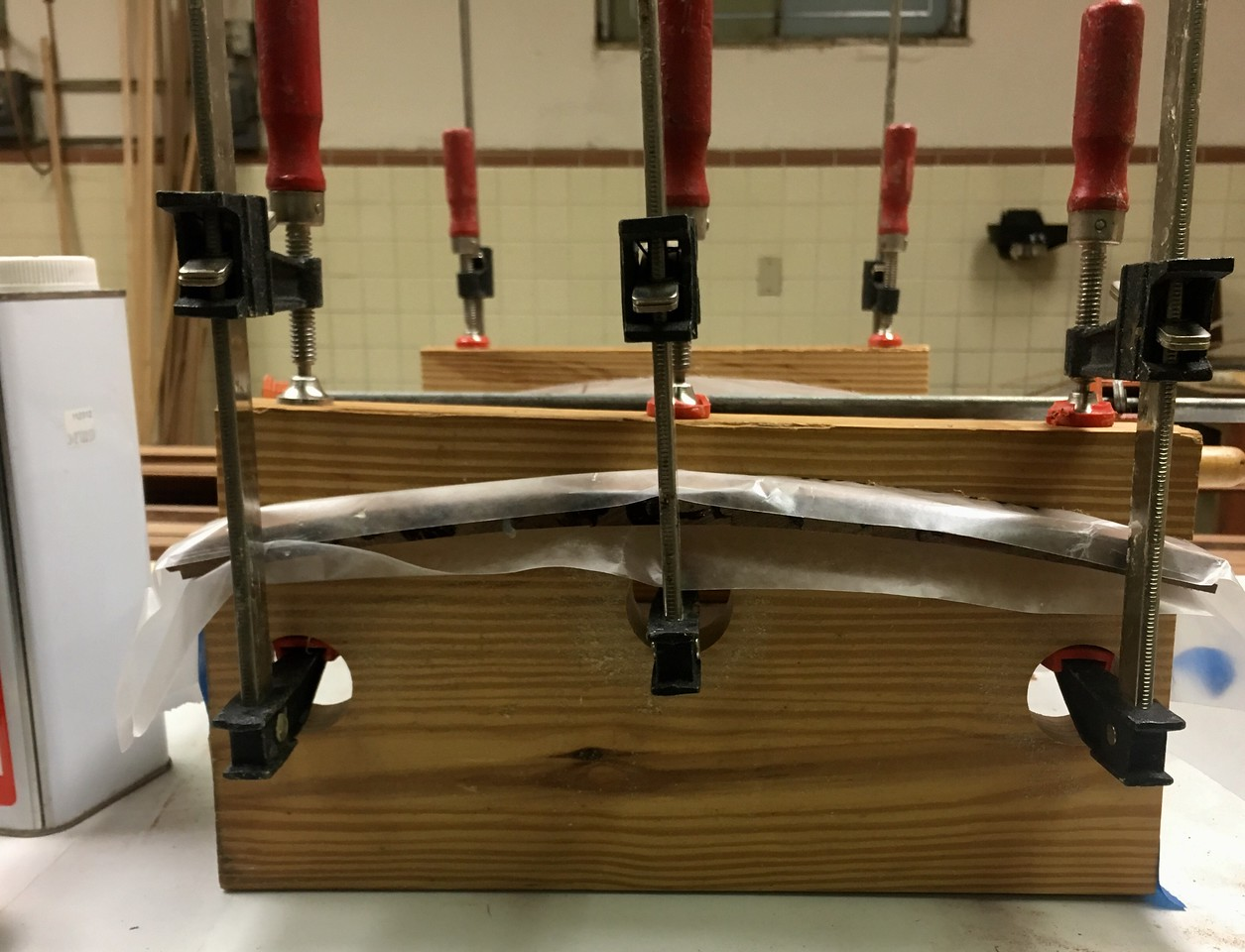 Curved Clamp Press Jig