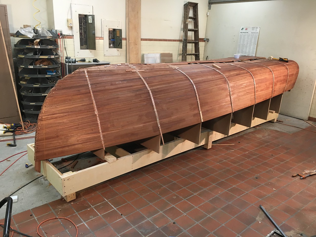 The Stern Strips are Cut