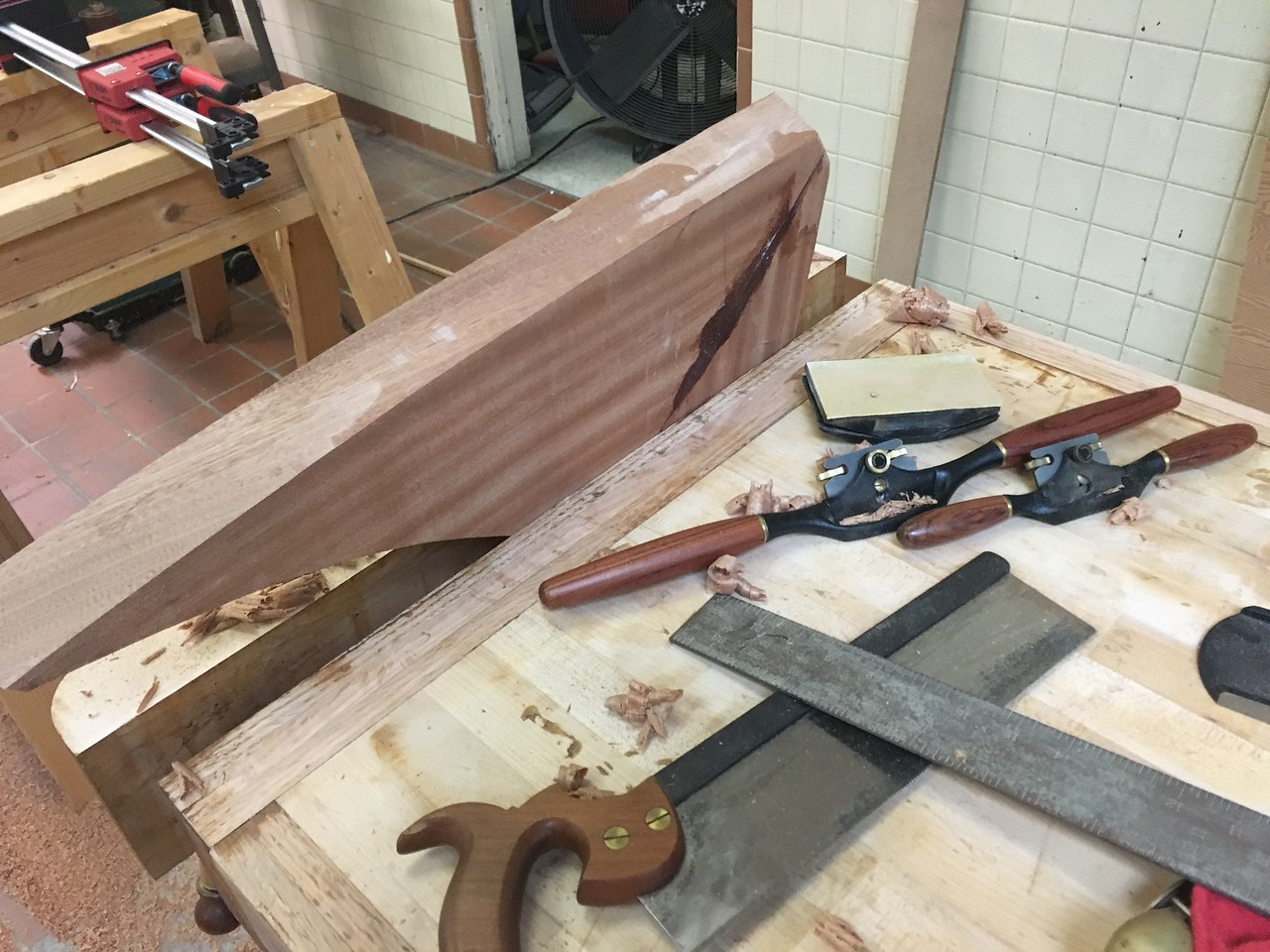 More carving to find the perfect fit