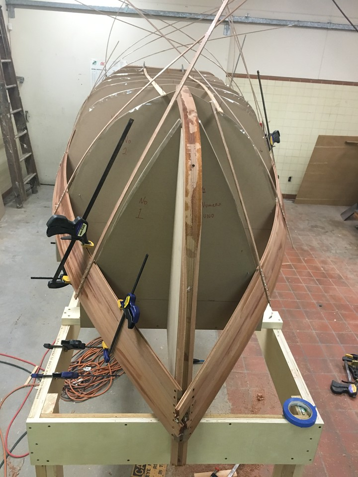 She starts to take shape
