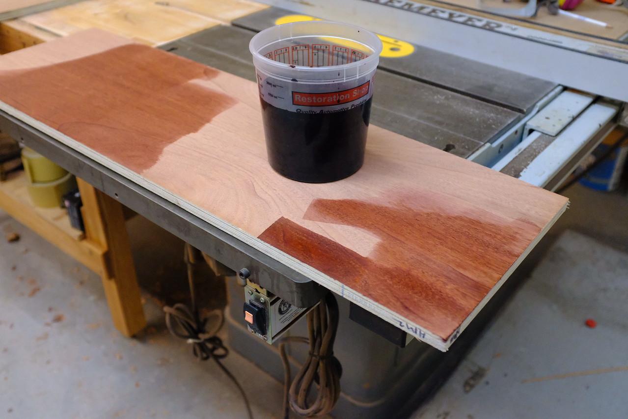 Dye Test Piece