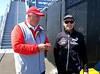 Regatta Director Iain Murray, an Aussie, and Kevin Shoebridge, a Kiwi