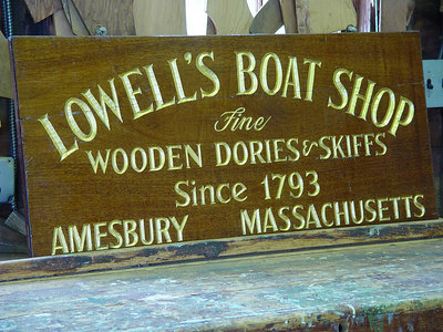 Lowell's Boat Shop, National Site