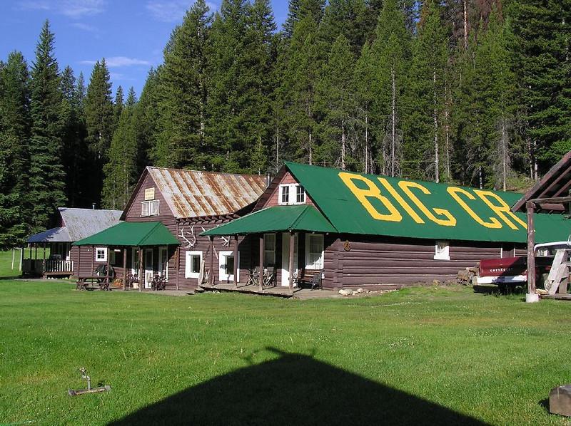 Big Creek Lodge at the airstrip