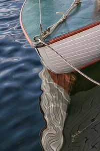 White Hull Reflection