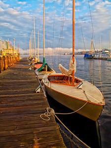 Sailboat line-up