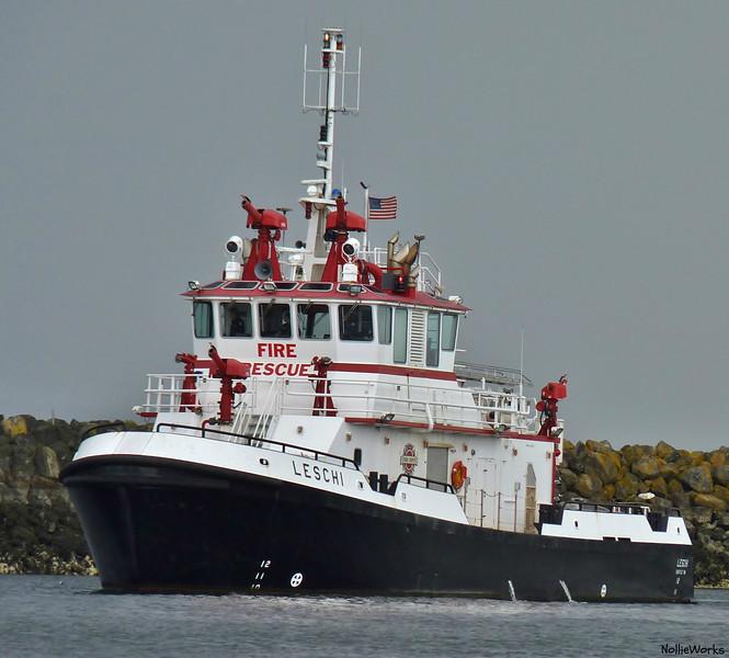 "City of Seattle Fire Dept. fire vessel - ""Leshi"""