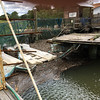 Hurricane Matthew damage at Marshside Grill docks